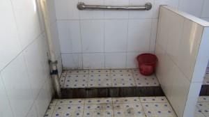中国の公共トイレ