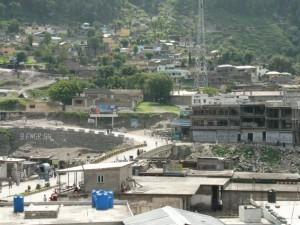 震災前のパキスタンの街