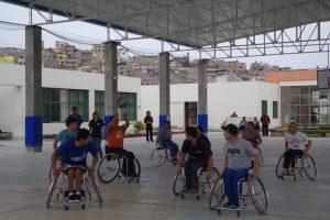 車椅子バスケット海外