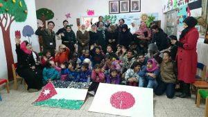 ヨルダンの特別支援教育を受ける子供達