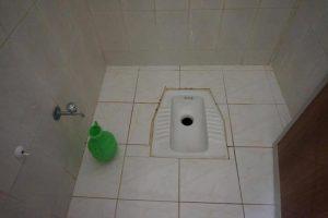 ヨルダンでは一般的なアラビー式トイレ