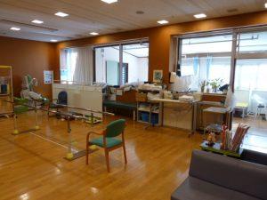八丈病院リハビリテーション室