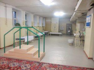 モンゴル国立第1病院リハ室