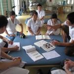 中国内野PTによるリハビリテーション科の同僚紹介