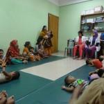 バングラデシュ井立STによるCBRセンターの同僚紹介