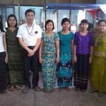 ミャンマーで活動中のシニアボランティアの活動報告