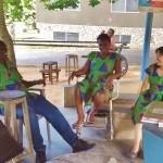 磯貝PTによるガーナのコミュニケーション事情 ガーナ磯貝PT